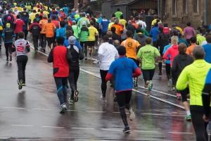 Maratón de una ciudad. bonomédico.